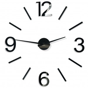 Large wall clock DIY Admirable 4 100-130cm