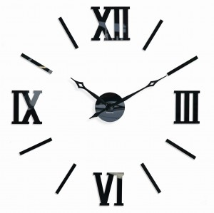 Large Wall Clock DIY Admirable 3 100-130cm